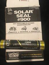 Solar Seal #900 12 Tubes Of White #900 Adhesive Sealant Caulk 905