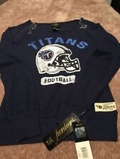 NFL Tennessee Titans Football Blue Ladies Small Sweater