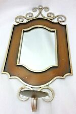 NEW IN BOX TASTE OF HOME VENETIAN MIRROR WALL SCONCE CANDLE HOLDER