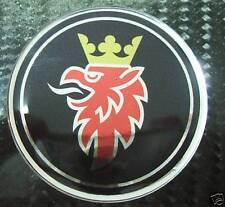 "NEW 2.5"" SAAB Black chrome Emblem decal 93 9-3 95 9-5"