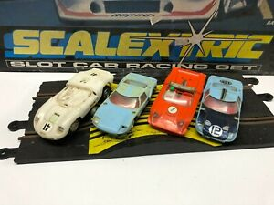 SCALEXTRIC SPARES OR REPAIRS LOT SLOT CARS