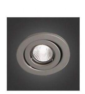 "Bazz Series 300 140 RF GU10 Series Single-Light -4"" Recessed Lighting Kit Satin"