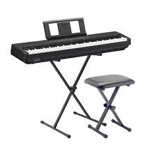 Yamaha E-Piano P45 BK Noir SET2 avec Support et Banque