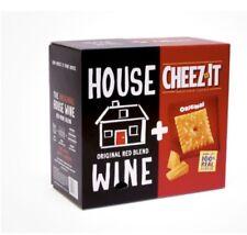 New listing Cheez- It Original & House Wine Red Blend Box- 3L