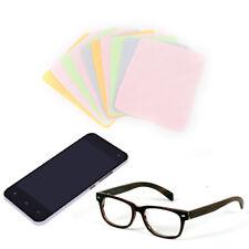 10pcs large microfiber cleaning cloth for screens lenses glasses 18*15cm 4colors