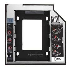 NEW 12.7mm to 2nd SATA 2.5 HDD SSD Hard Drive Disk Caddy Bay Module Adapter Bay