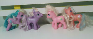 MY LITTLE PONYS WYSTERIA COTTON CANDY PINKIE PIE ROYAL MONARCH G3 PONIES HASBRO