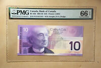 Canada BC-63b 2001-02 $10 Dollars Knight | Dodge PMG 66 EPQ S/N RADAR Serial #