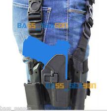 2018 Pouches Tactical Holster Drop Leg Thigh Rig Platform Glock 17 18 19 22 23