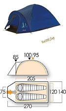 Tenda da campeggio 2 posti  Vango Alpha 200