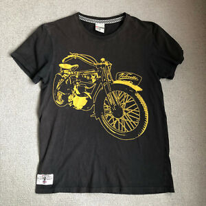 Red Torpedo Guy Martin Motocycle T Shirt M