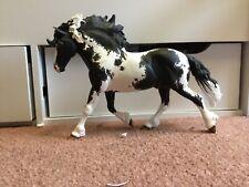 Breyer plastic horse model journeyman custom to a striking piebald