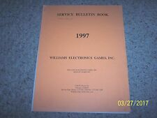 Williams 1997 Service bulletin book 38 pages includes ruber ring sizing chart