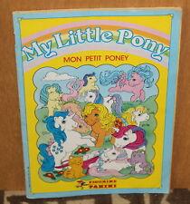 Album PANINI 1987 ✤ My Little Pony ✤ Mon Petit Poney