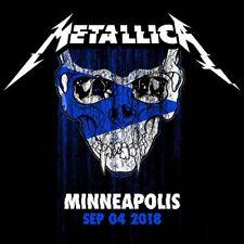 METALLICA / World Wired Tour / LIVE / Target Center - Minneapolis, Sep. 04, 2018