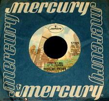 "REBA McENTIRE ""(YOU LIFT ME) UP TO HEAVEN/Rain Fallin'"" MERCURY 57025 (1980) 45"