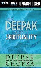 Ask Deepak: Ask Deepak about Spirituality 3 by Deepak Chopra (2014, MP3 CD,...