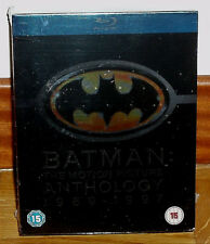 Batman The Motion Picture Anthology 5051892001427 Blu-ray Region 2