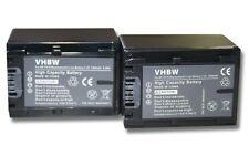 2x BATERIA 1300mAh PARA SONY DCR-SR37E HDR-CX520VE HDR-CX115E DCR-SR38E
