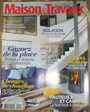 Maisons et travaux N° 252 2013 Isolation Plafond Porte et cloison Poële granulés