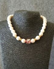 HANDMADE! Genuine Pearl Necklace 30021