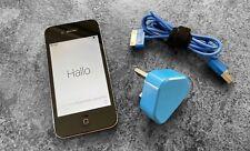 Apple iPhone 4s - 8GB - Black (EE) A1387 (CDMA + GSM) + Extras  -Pristine-