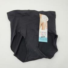 Spanz Assets Shaping Panty Shapewear Size Large Lightweight Seamless Black