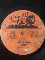 "Shades-Bubbling Queen/A Little Loving 10"" Vinyl Single 1982 ROOTS REGGAE"