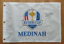 Martin KAYMER Signed 2012 MEDINAH Ryder Cup Golf Flag Autograph AFTAL COA