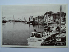 Thunder & Clayden Sunray B&W PC Weymouth Harbour and Nothe Parade. Dorset.