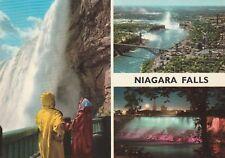 """*Niagara Falls Postcard-""""Niagara Falls, Ontario"""" /Table Rock House Look-Out/"""