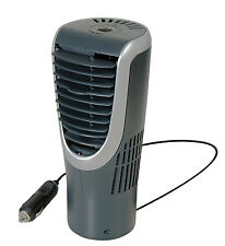 NEW! GO GEAR AUTOMOTIVE PERSONAL TOWER FAN 12 Volt Fits in ANY CAR CUP HOLDER HQ