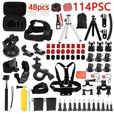 GoPro Accessories Action Camera Accessory Kit Bundle Chest Strap Head Mount