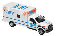 NYPD New York Police Department 1:48 Scale Ambulance Diecast with Lights NY71599