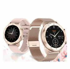 Women Smart Watch ECG Heart Rate Monitoring Blood Pressure Oxygen Waterproof