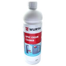 UPVC Cream Cleaner 1 Litre Bottle UPVC Window Frame Cleaning Restorer Fluid