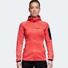 Abrigos y chaquetas de mujer adidas color principal rojo