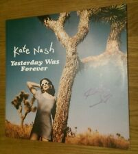 Signed Kate Nash - Yesterday Was Forever Vinyl LP Record 2018 ++