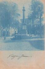 CAGLIARI - Piazza Jenne - rara edizione viraggio  blu cobalto