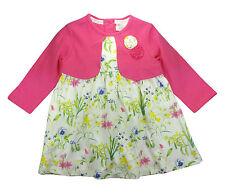 John Rocha Baby Girls Dress Pink Yellow Floral Party 6-9 Months