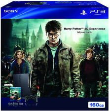 Sony PlayStation 3 Harry Potter 3D Experience Movie Pack 160GB Black Console