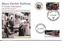 Isle of Man Railway Cover, 2012, Victorian Extravaganza