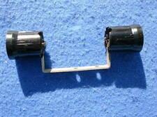 1946 Packard Plamor lamp socket with type 3 mounting bracket, Bakelite, 2 lamps