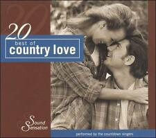 20 Best of Country Love by The Countdown Singers (CD, Jan-2004, Madacy) NEW