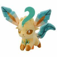 Takara Tomy Pokemon series Plush Doll On Shoulder- Leafeon Soft Toy w/ Clip Mini