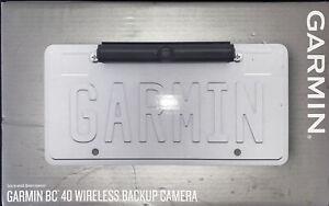Garmin BC 40 Wireless HD Backup Camera BC40 010-01866-00 No Drilling or Wiring
