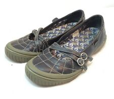Merrell Womens Size 7 Black Zodiac Mary Jane Flats Buckle Strap Performance Shoe