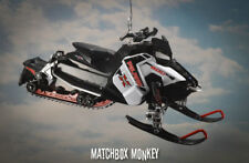 Polaris 800 Switchback Pro X Snowmobile Christmas Ornament 1/16 RMK Indy Titan
