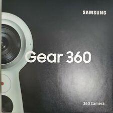 Samsung Gear 360 2017 Edition Real 360 Degree 4K Vr Camera - White Open Box