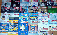2012 Milwaukee Brewers Complete Set of 26 Regular Season Game Programs w Braun